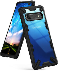 For-Samsung-Galaxy-S10-Plus-Case-Ringke-FUSION-X-Shockproof-Armor-Bumper-Cover