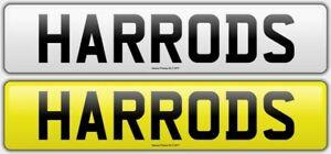 HARRODS-HA66ODS-DESIGNER-CHERISHED-PRIVATE-NUMBER-PLATE-RARE-BOSS-F1-C63-AMG
