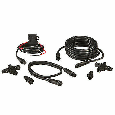 Lowrance Network Starter Kit 124-69 NMEA 2000 for HDS-LCX-LMS Global Map MD