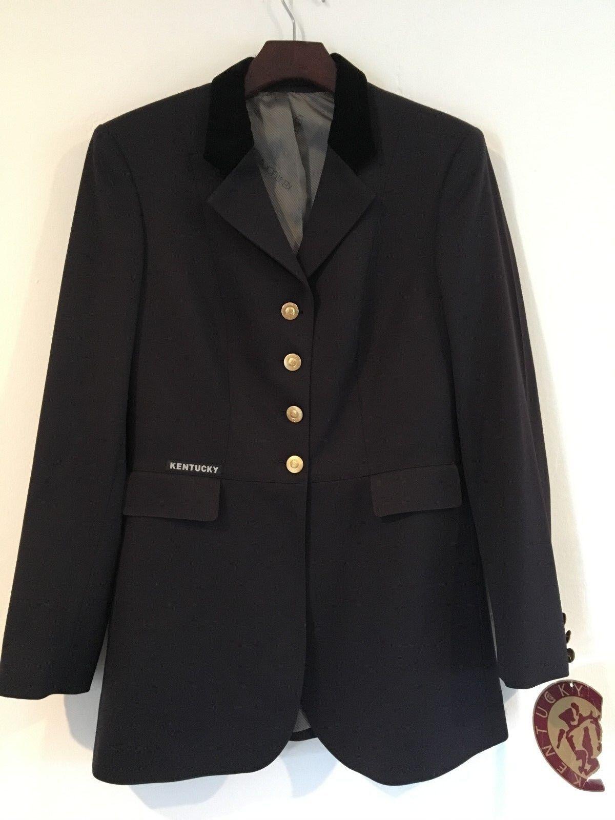 Dressage show coat - Kentucky Concours Größe  German Größe 42 -  navy