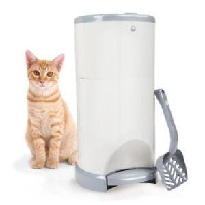 Poubelle pour litière de chat
