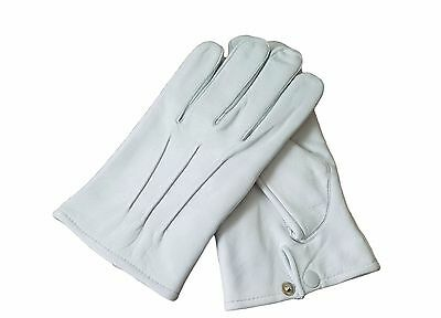 Men/'s Leather Costume Driving Gloves Unlined Medieval Formal Victorian Steampunk