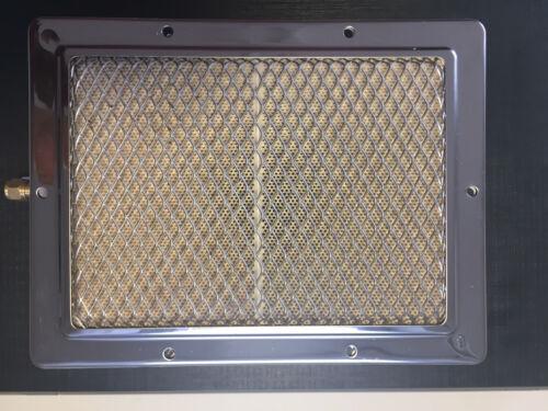 2 katalytische Gas Infrarot Keramik Doppelbrenner f.Hochtemperaturgrill 800 Grad