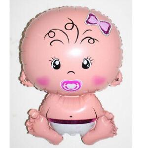 BAMBINO-GRANDE-palloncini-ad-elio-IN-FOIL-NUOVO-Baby-Shower-Battesimo-Compleanno