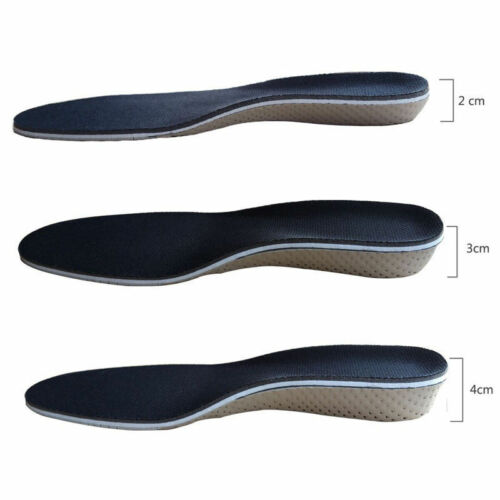 Air Cushion Height Soft Plantar Increase Elevator Shoe insoles Pad Taller KY