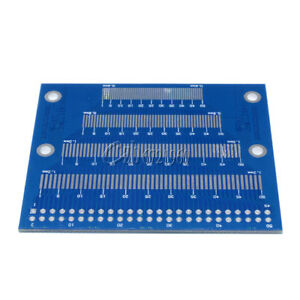 0.5mm To 1.2mm Pin Pitch Adapter PCB FPC Board 2.0-3.5inch TFT LCD SMD To DIP