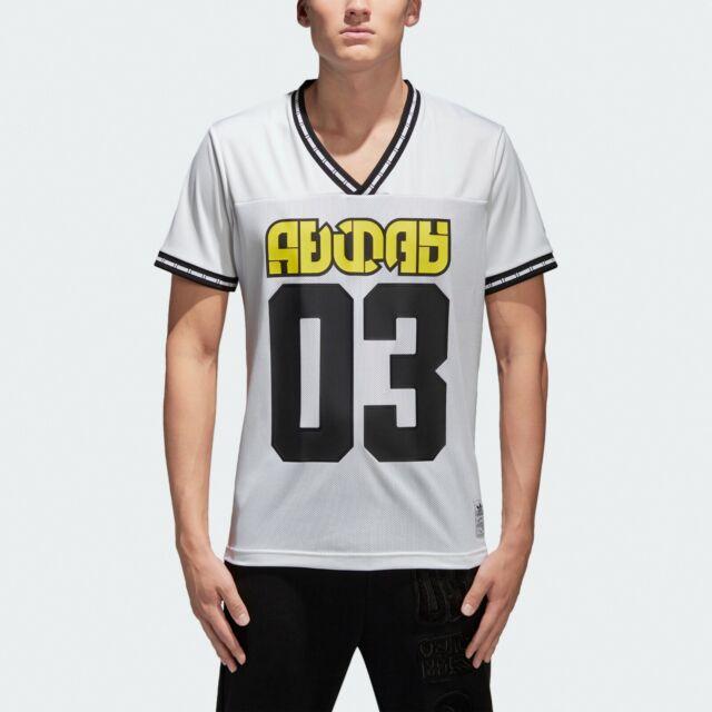 adidas Originals Winter Tee Jersey Mix-fabric Graphic Shirt Top ...