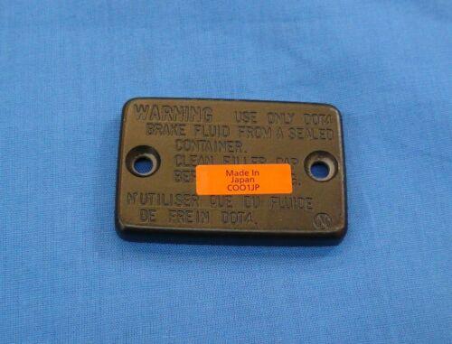 HONDA TRX250R TRX 250R OEM FRONT BRAKE MASTER CYLINDER CAP NEW 86 87 88 89