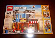 Sealed LEGO Creator 31050-3 in 1 Corner Deli Brand New Retired. 467 Pcs