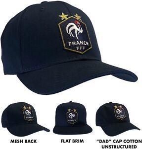 5494070bc5f FFF Ball Cap Hat French Football Federation France Soccer Team Hat ...