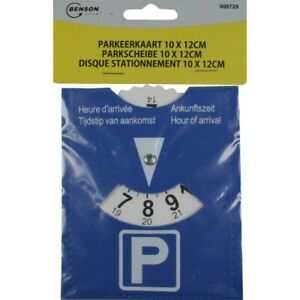 Disque-de-Stationnement-Parking-Disc-Europeen-Zone-Bleue-10-x-12-cm