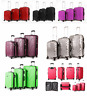 Extra Large Medium Small Hard Cabin Travel Trolley Luggage Suitcase Bag Case Set
