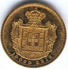 Portugal 10.000 Reis 1879 oro Luis I @ Muy Bella @