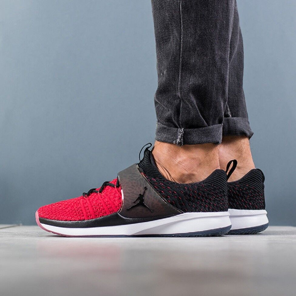 NIKE JORDAN TRAINER 2 FLYKNIT Trainers Gym Gym Gym Casual Fashion - UK 7 (EUR 41) - ROT 3a76fb