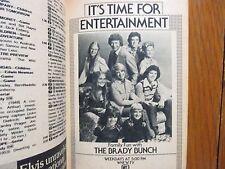 Nov-1975 TV Guide(THE BRADY BUNCH/JULIE  KAVNER/RHODA/JAMES ARNESS/THE  MACAHANS