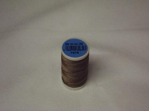 07579 Coats Duet Sewing Thread 100/% Polyester Cordonnet 30m