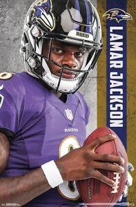 Image is loading LAMAR-JACKSON-Baltimore-Ravens-Superstar-2018-NFL-Football- 0e95cf53d