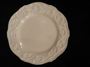 Chris Madden Felice Collection, Ivory Salad Plate a set of 2 | eBay