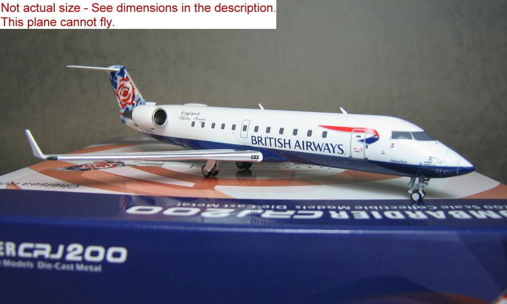 1 1 1 200 NG Model British Airways CRJ200 G-MSKN Diecast metal plane   3416f6