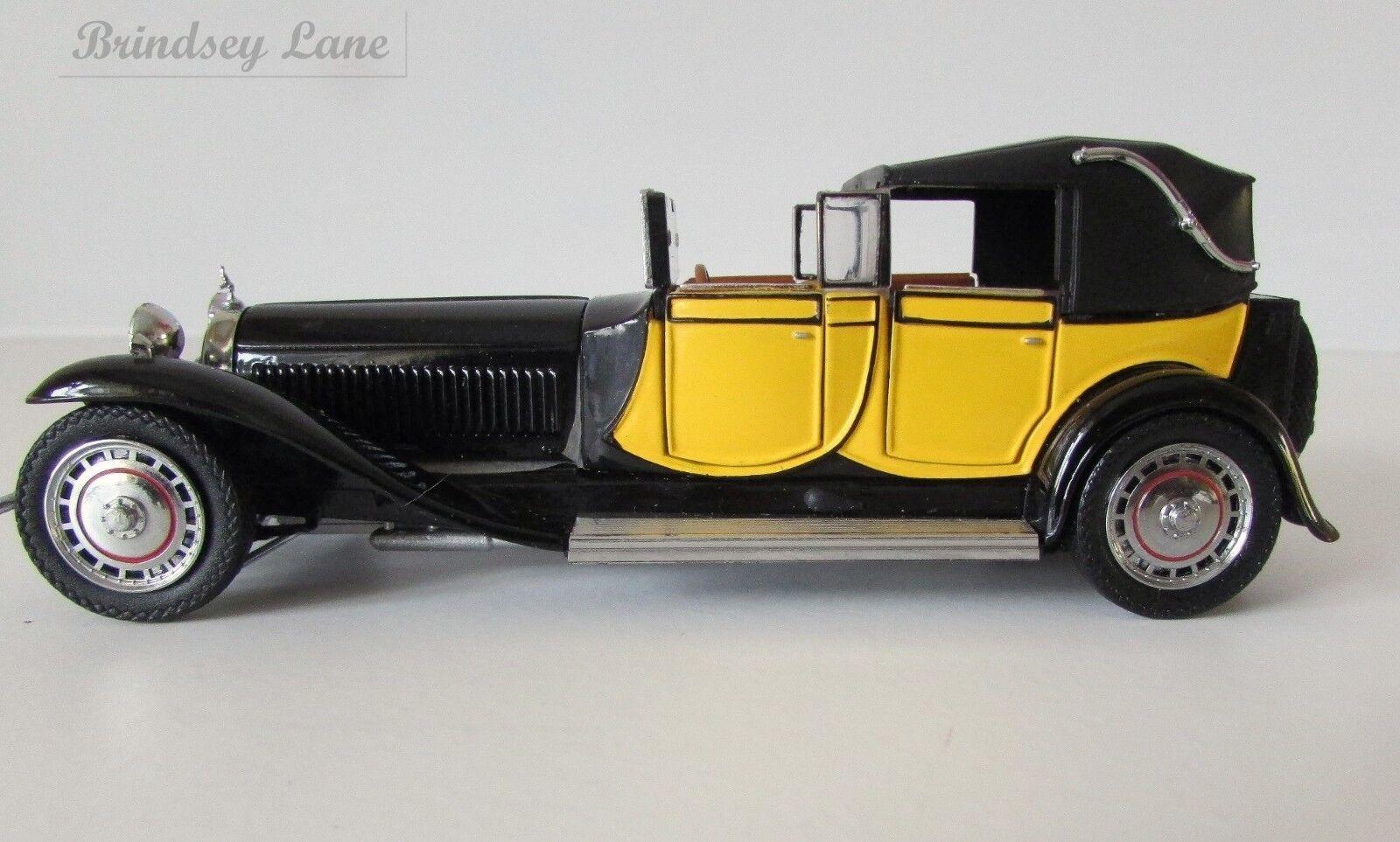 Franklin Mint Bugatti Type 41 Royale 1927 Replica  1 43  New Other  B14PW07