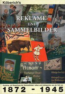 Reklame-und-Sammelbilder-Katalog-mit-Bewertung-der-Sammelalben-1872-bis-1945