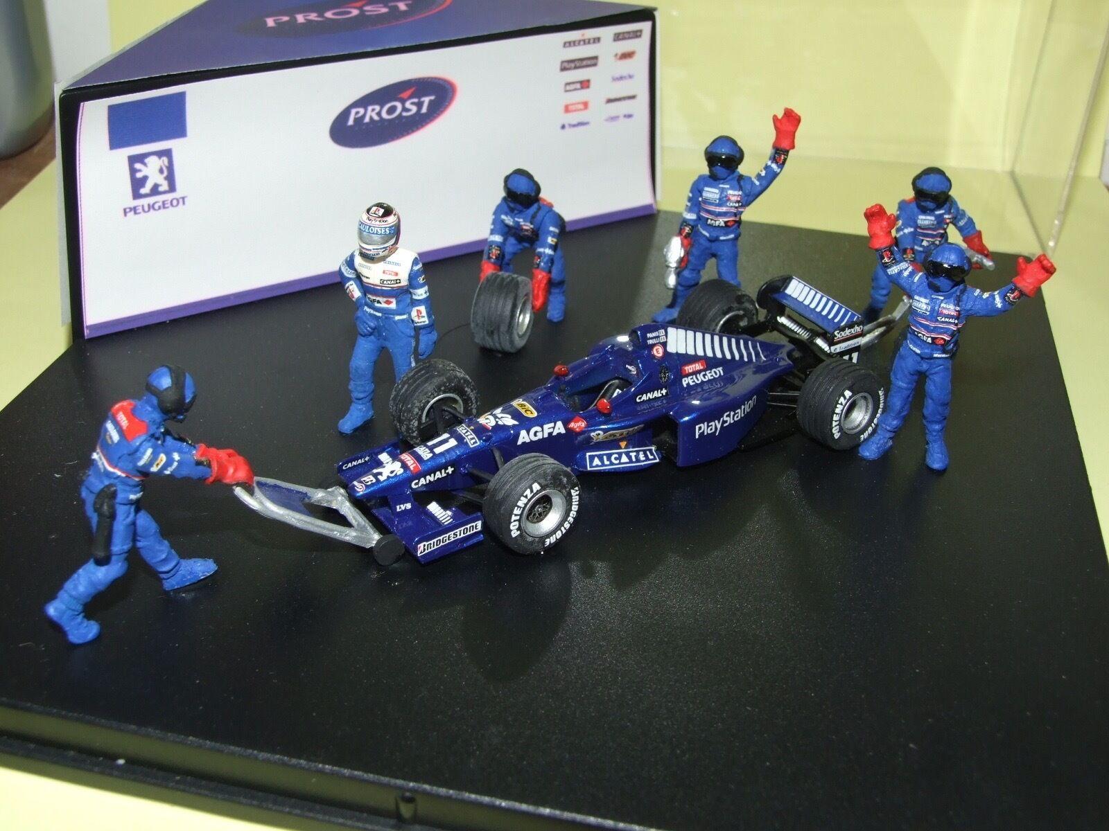 Prost peugeot ap01 1998 o. panis diorama model resin 1 43 rare