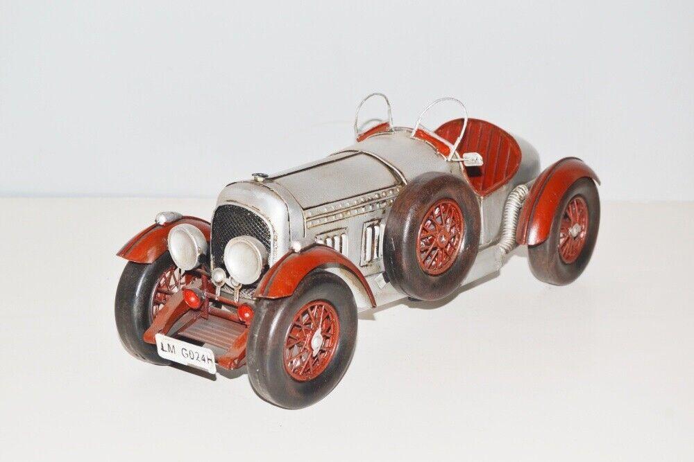 Voiture miniature CADILLAC 1927 Nostalgie modèle en tôle, en métal 33 cm, NOUVEAU (KO)
