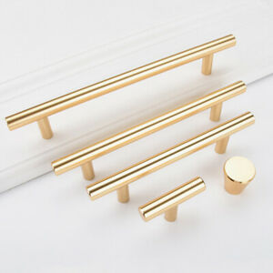 Gold Door Pull Handle Wardrobe Door Pull Handle Cabinet Door Knob Pull Handle Modern Door Decorative Handles