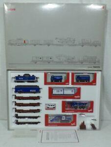 Marklin-HERPA-26519-150255-Grote-treinset-HOCHTIEF-5-polig-digitaal-12-delig