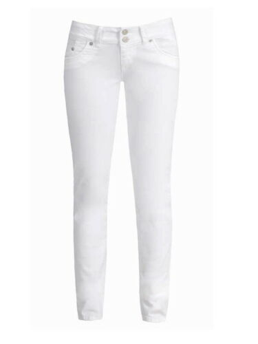 White LTB Damen Jeans Molly Slim Fit Weiß