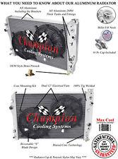 "3 Row BC Champion Radiator W// 2 12/"" Fans for 1998 1999 Chevrolet Camaro V8 Eng"