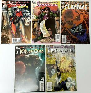 5x-Dc-Comics-Joker-039-s-Asylum-II-Comics-Harley-Quinn-The-Riddler-amp-Others-DC11
