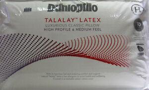 Dunlopillo-Luxurious-Latex-Classic-Pillow-High-Profile-amp-Medium-Feel