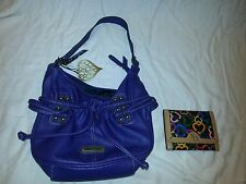 XOXO Purple Lavender Purse Satchel Handbag Hobo Shoulder Bag FREE Wallet NWT