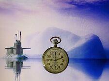 Leonidas TAG HEUER SILBER 800 2.WK MILITARY KRIEGSMARINE U-BOAT CHRONOGRAPH 1935