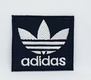 Adidas-Original-logo-sports-badge-Black-Iron-Sew-on-Embroidered-Patch