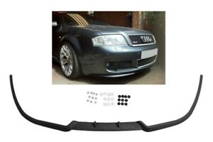 Audi A6 S6 RS6 C5  Front Bumper Cup Chin Spoiler Lip Splitter Valance + Screws