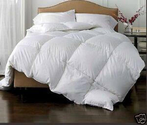 Image Is Loading 13 5 Tog Single Quilt Warm White Goose
