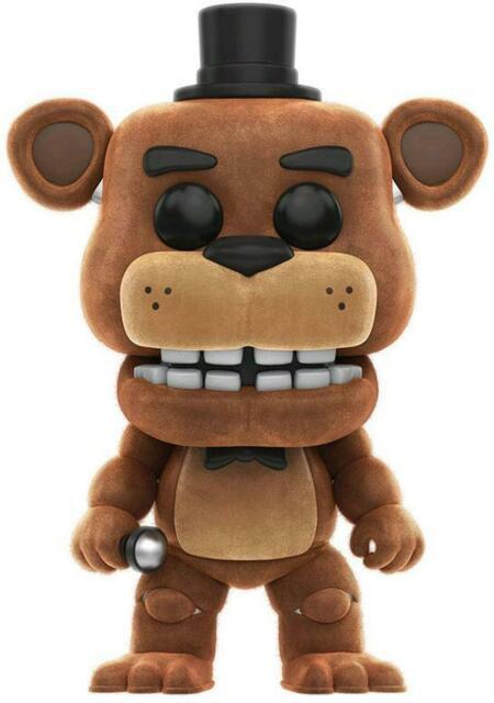 Five Nights at Freddy's - Freddy Flocked Pop! Vinyl Figure - FunKo Free Shipping