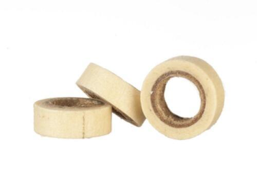 Casa De Muñecas Cinta de enmascarar Juego de 3 Caja de herramienta de trabajo Miniatura 1:12 Accesorio de cobertizo