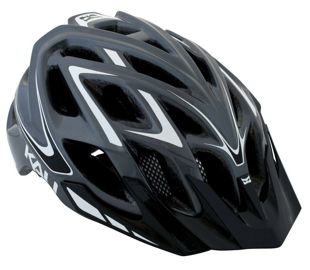 Kali Predectives Chakra Plus XC Helmet Wisdom Grey White