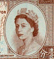 HONGKONG PETIT billet uniface  neuf de 1 cent Pick325b  reine ELISABETH II  1971