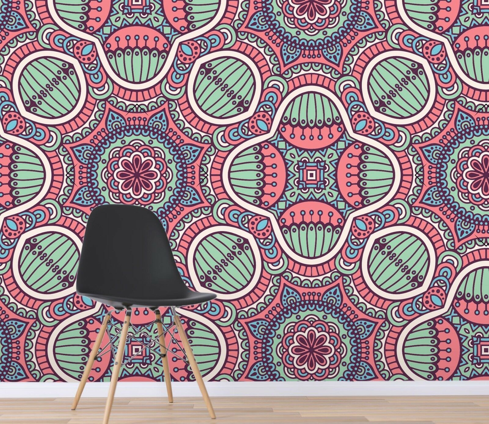 3D Floral Texture Art 11 Wallpaper Mural Print Wall Indoor Wallpaper Murals UK