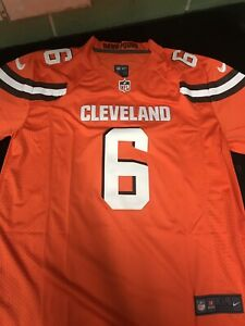 save off e7dc7 7bdea Details about Baker Mayfield Jersey Cleveland Browns #6 Size Mens XL orange  brand new