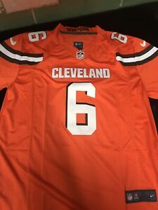 Baker Mayfield Jersey Cleveland Browns #6 Size Mens XL orange brand  free shipping