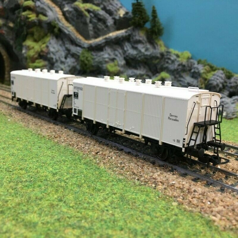 2 wagons Interfrigo Icefs Sncf epIIIb HO187LSmodelloS 30510