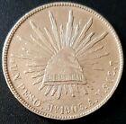 1903 MEXICO A.M.  SECOND REPUBLIC Peso KM# 409.2 SILVER Very Nice Details!