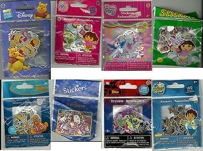Disney Nemo Dora GO Diego Batman Hello Kitty Stickers Party Bag *NEW*