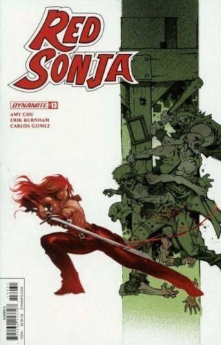 Vault 35 Red Sonja Vol 4 #13 Cover C VF 2018 Dynamite