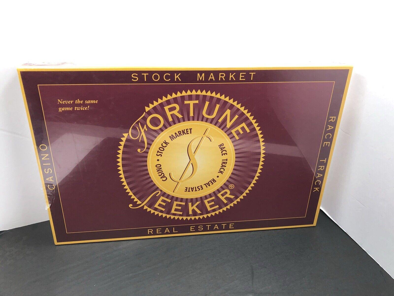 Fortune Seeker jeu bourse Casino Course Piste Immobilier Argent 1994 JJ Inc